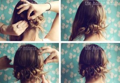 Easy Hairstyles for Busy Moms / hair tips - Juxtapost