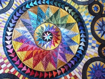 quilted by Margaret Solomon Gunn