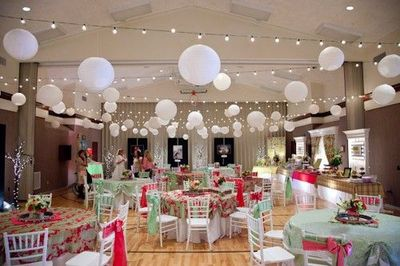 Beautiful Wedding Reception In An Lds Church Gym Love The