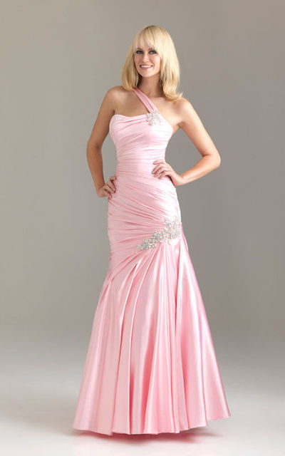 Long Pink Sparkly Prom Dress Photo Album - Cerene