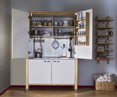 Great ikea hack armoire kitchenette for my kitchen - Mini cocina ikea ...