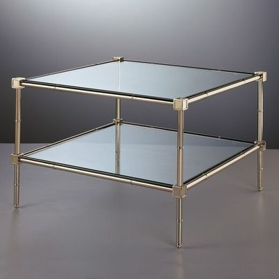 Jonathan Adler Meurice 2 Tier Table in Cocktail, Side And Console Tables