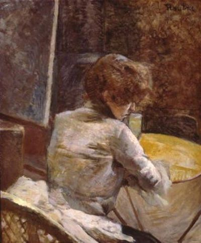 Toulouse-Lautrec - Waiting at Grenelle :: Sterling and Francine Clark Art Institute Museum Collections