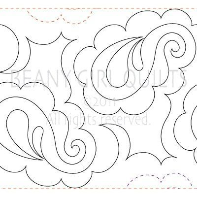 Scraps Of Life Pantograph Patterns Pretty Paisley