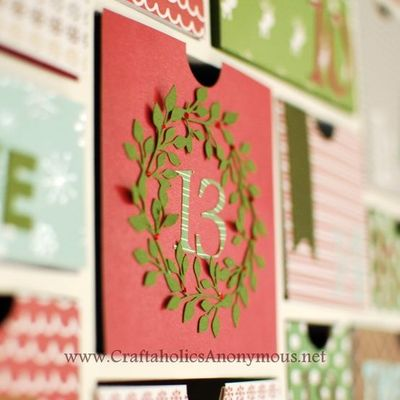advent calendar countdown christmas craft idea + silhouette coupon discount code