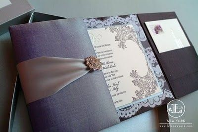 Diy couture wedding invitations