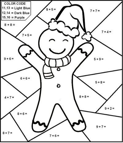 math worksheet : christmas color by number math worksheets  math sheets : Christmas Maths Worksheet