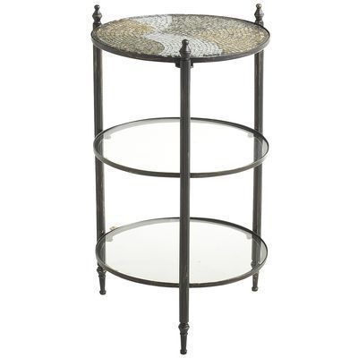Anamati Mosaic Glass - 3 Tier Table