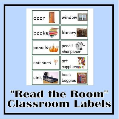 It's just a graphic of Accomplished Free Printable Classroom Labels With Pictures