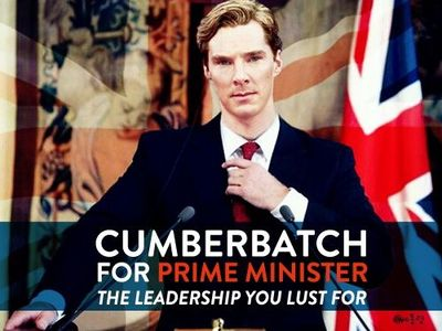 If I was British, I would vote for him!