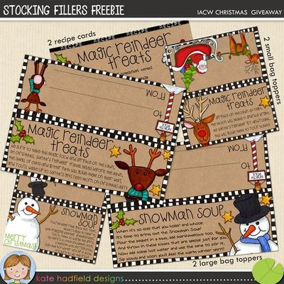 Free Printable Treat bag toppers- (Plain version or snowman soup poem ...