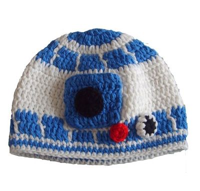 R2d2 Hat Knitting Pattern : R2D2 Baby Beanie / crochet ideas and tips - Juxtapost