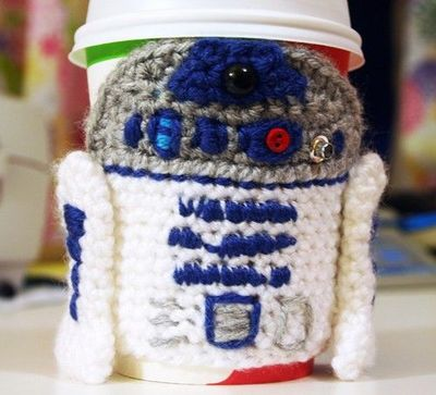 Pattern For Crochet R2d2 Cup Cozy Baha Crochet Ideas And Tips