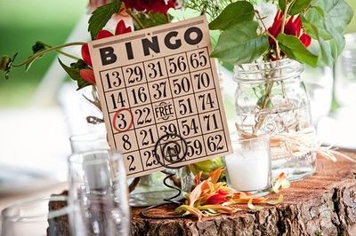 Adorable way to display table numbers