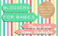 """I am so excited this time of year is here again! it's time for the (now annual �€"""" you can say that after one year, right?) March for Babies walk. last year I put together a team of bloggers in the area and together we raised over..."""