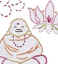 NEED: OM SWEET OM - Embroidery Patterns