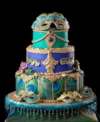 WOW! Masquerade Ball Cake