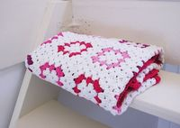 Annemarie's Haakblog: How to: make a granny square