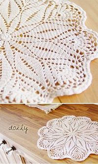 Free Japanese Crochet Doily Patterns : Posts similar to: Crochet doily. Japanese diagram. - Juxtapost
