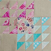 During Quiet Time: Winged Square Block Tutorial