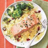 Salmon & Couscous Packets