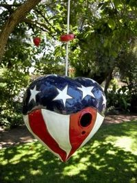Americana Heart by Don Williams Creations