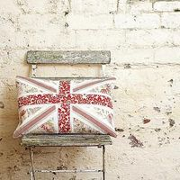 make a vintage jack cushion