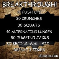 Pinning this to my fridge and will give it a go in the mornings. Ready for my breakthrough!