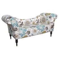 Greeley Square Settee in Pearl