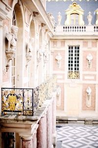 The architecture of Versailles