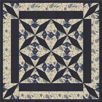 Fans and Lace Table Topper Quilt Pattern by madcreekdesigns, $6.00