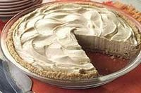 """Peanut Butter Pie"" Ingredients: *8 oz. Cream Cheese, softened *3/4 c. Peanut Butter *2 1/2 c. Powdered Sugar *3 c. Whipped Topping *1 tsp. Vanilla *Baked Pie Crust or Graham Cracker Pie Crust or Chocolate Pie Crust Directions: Combine Cream Chees..."