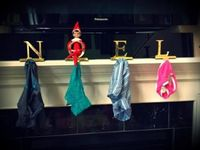 Elf idea- replace their stockings with underwear!! HA!!