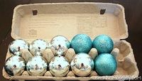 Use empty egg cartons to store fragile ornaments - Ask Anna