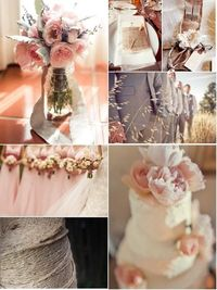 Peach and Pink Wedding