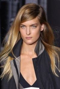 LOVE this style and color!!!! - NY Fashion Week Spring 2013 Hair Trend