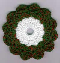 Christmas Wreath CD Hotpad