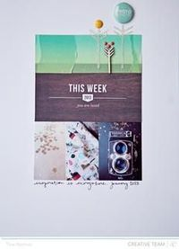 This Week by lifelovepaper at Studio Calico