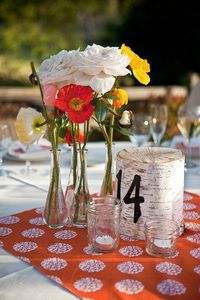 Cute way of doing table numbers.
