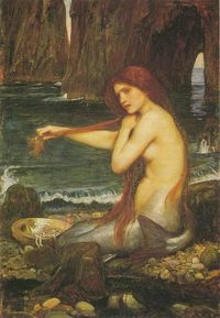 The Mermaid. Waterhouse.