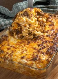 beefy macaroni and cheese
