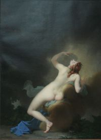 Jupiter and Lo, Jean-Baptiste Regnault