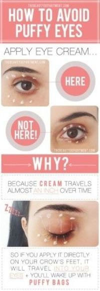 How to Avoid Puffy Eyes