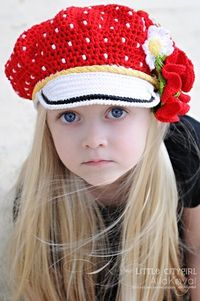 Polka Dots Reversable Cap & PoppypostPDF Pattern for sale- This designer's things are fun!