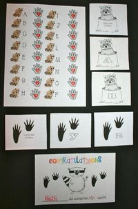 FREE letter activities to go with The Kissing Hand. Kids become ABCDe-tectives and spy the Bb cards by the bathrooms; they find the Pp & Ss cards in the office & meet the principal & secretary. The Ll cards are in the library where they meet t...