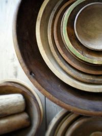 lovely wooden bowls, collected.