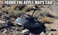 Apple Maps Car Has Been Found