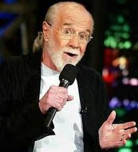 George Carlin Quotes// �€œDon't sweat the petty things and don't pet the sweaty things.�€ �€œPeople who say they don't care what people think are usually desperate to have people think they don't care what peopl...