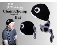Chain Chomp-Inspired Hat