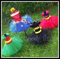 Super hero tutu costumes!